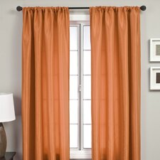 Bella Rod Pocket Single Curtain Panel