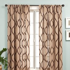 Bali Rod Pocket Single Curtain Panel