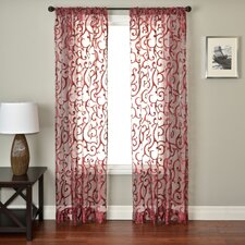 Abel Rod Pocket Single Curtain Panel