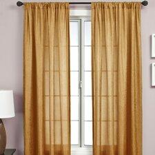 Gigi Rod Pocket Single Curtain Panel