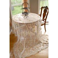 Tudor Appliqué Net Table Cover