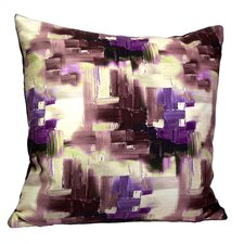 Mirasol Cubism Painting Feather Throw Pillow (Set of 2)