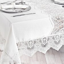 City Sleep 13 Piece French Lace Table Cover Set