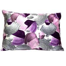 Mirasol Paint Bruch Painting Lumbar Pillow (Set of 2)