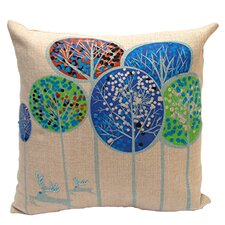 Patina Cotton Throw Pillow (Set of 2)