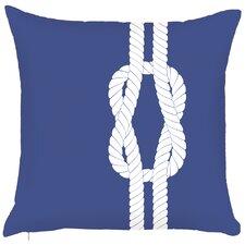 Costal Sailor's Knots Hook Throw Pillow