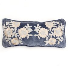 Plush Flowers Boudoir Pillow