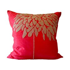 Bling Coral Tree Throw Pillow