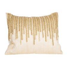 Beaded Top Natural/Organic Lumbar Pillow