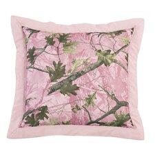 Pink Oak Camo Euro Sham