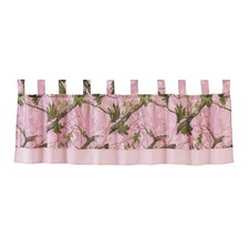 "Pink Oak Camo 84"" Curtain Valance"