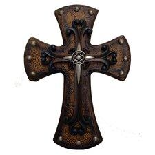 Studded Wood Cross Wall Decor (Set of 2)
