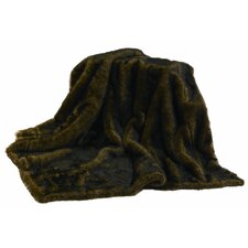 Mink Faux Fur Throw Blanket