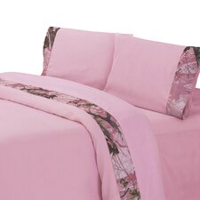Pink Oak Camo Sheet Set