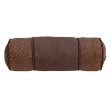 Del Rio Faux Leather Bolster Pillow