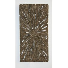 Rectangle Wall Décor - Aged Tree Cross-Section (Set of 4)