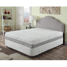 "Herbacoal 12"" Memory Foam Mattress"