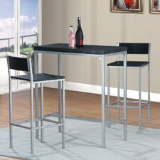 Henry 3 Piece Pub Table Set