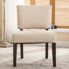 Padded Armless Side Chair