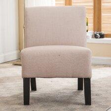 Armless Slipper Side Chair