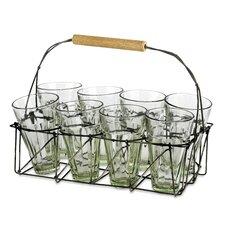 Assam 2 Piece Glass Tea Set (Set of 8)