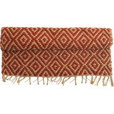 Handgewebter Teppich Jambo in Rot