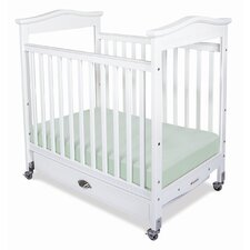 Biltmore Compact Size Clearview Convertible Crib with Mattress