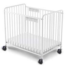 Chelsea Slatted Non-Folding Convertible Crib with Mattress