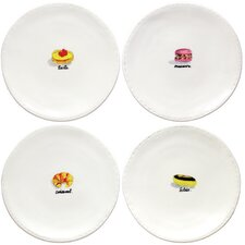 """6"""" French Dessert Plate (Set of 4)"""