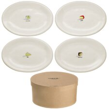 "8"" Cafe Plate 4 Piece Set"