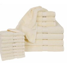 All American Cotton Line 16 Piece Towel Set