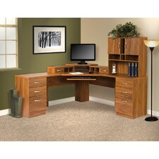 "Office Adaptations 30""H x 30.7""W Desk Hutch"