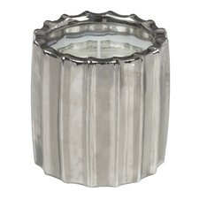 Ribbed Lotus and Lily Novelty Candle