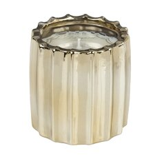 Ribbed Fennel and Fig Novelty Candle