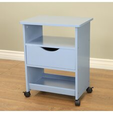 All Purpose Rolling End Table