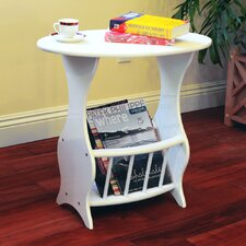Magazine Table in White