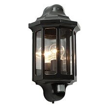 Traditional 1 Light Outdoor Flush Mount