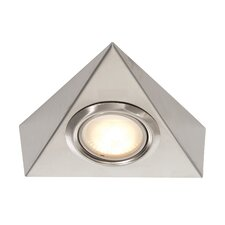 Tri Cabinet Halogen Under Cabinet Recessed Light (Set of 2)