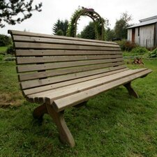 Nowy Targ 2 Seater Spruce Bench