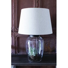 "Sanctuary Fillable 23"" H Table Lamp with Empire Shade"