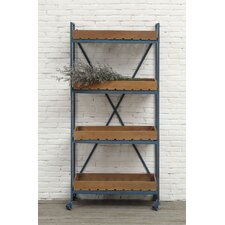 "Country 61.38"" Accent Shelves"