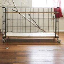 Bistro 2-Tier Shelf Microwave Cart