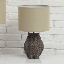 """Haven 12.99"""" H Table Lamp with Drum Shade"""