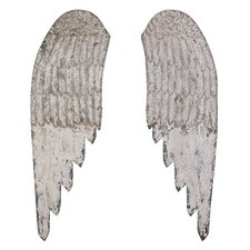 The Painted Porch Angel Wing Wall Décor (Set of 2)