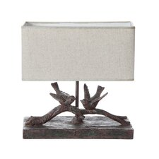 "Haven 12.25"" H Table Lamp with Rectangular Shade"