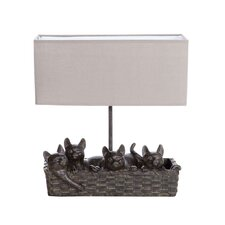 """Haven 14.5"""" H Table Lamp with Rectangular Shade (Set of 2)"""