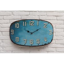 Urban Homestead Metal Clock