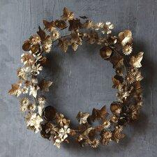 Chateau Round Metal Wreath