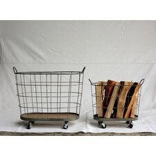 Casual Country 2 Piece Laundry Basket Set