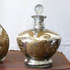 Chateau Mercury Glass Bottle